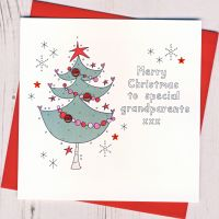 To Special Grandparents Christmas Card