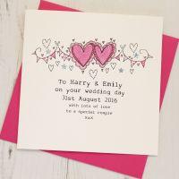 <!-- 020 -->Personalised Wedding Card