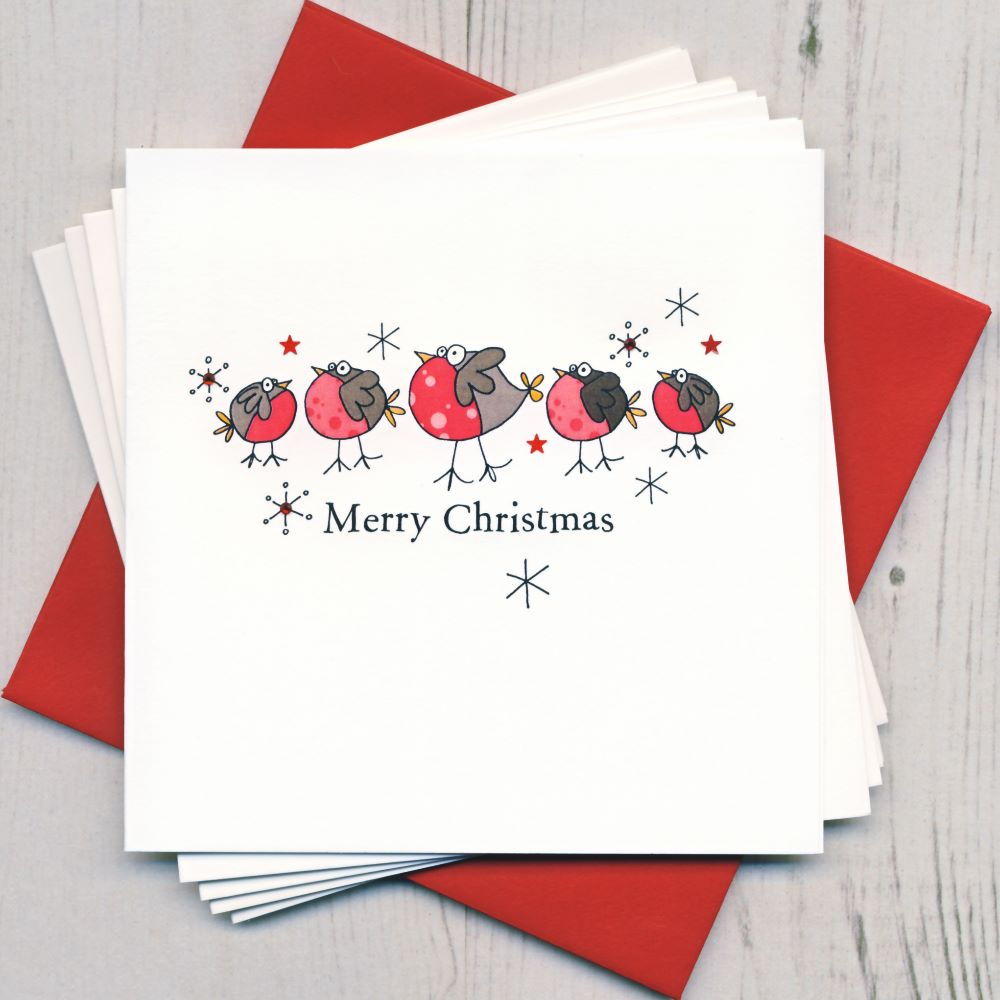 <!-- 004 -->Pack of Five Christmas Cards