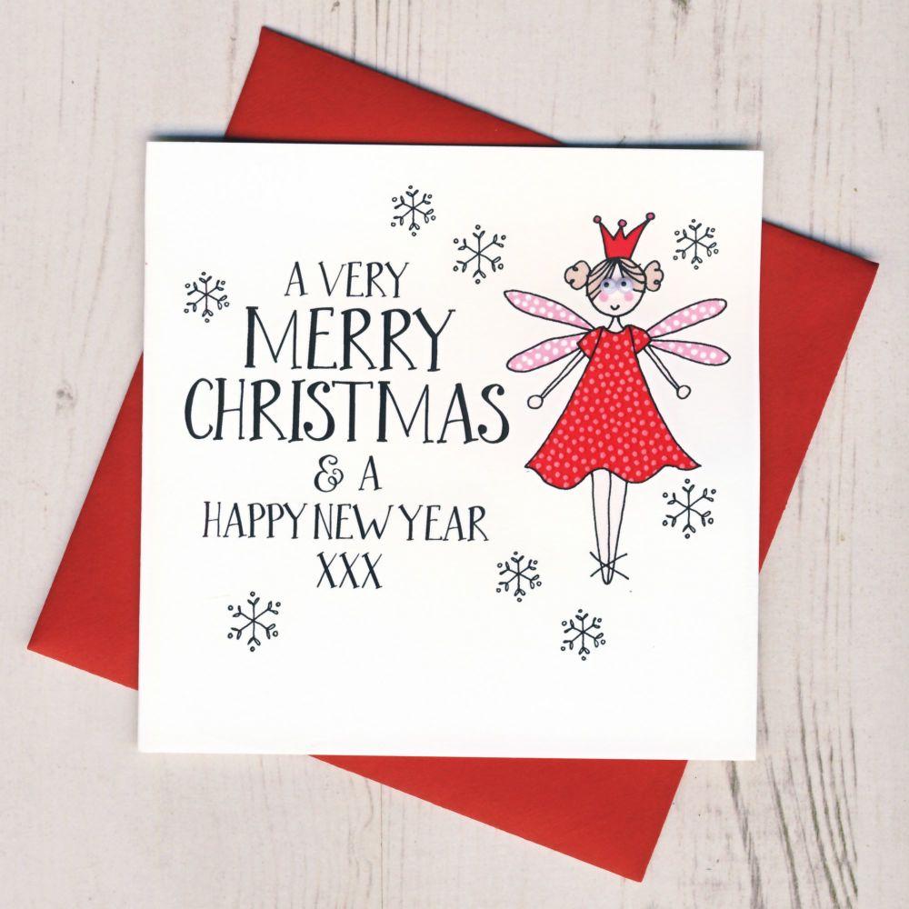 Wobbly Eyes Fairy Card