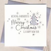 <!-- 003 -->Glittery Son Christmas Card