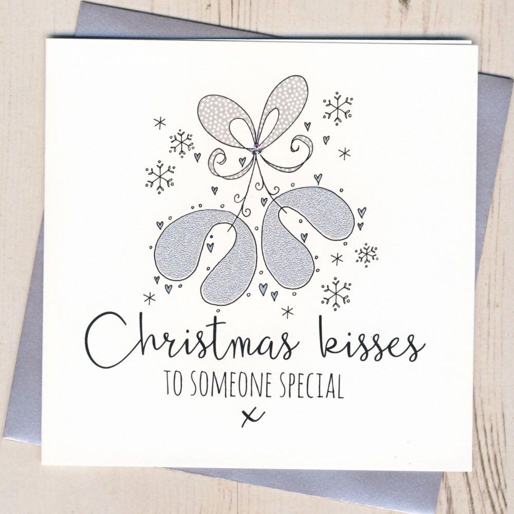 Glittery Christmas Kisses
