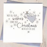 Glittery Fairy Christmas Cards