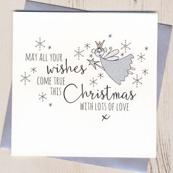 Glittery Fairy Christmas Cards