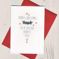 <!-- 002-->Merry Christmas Auntie
