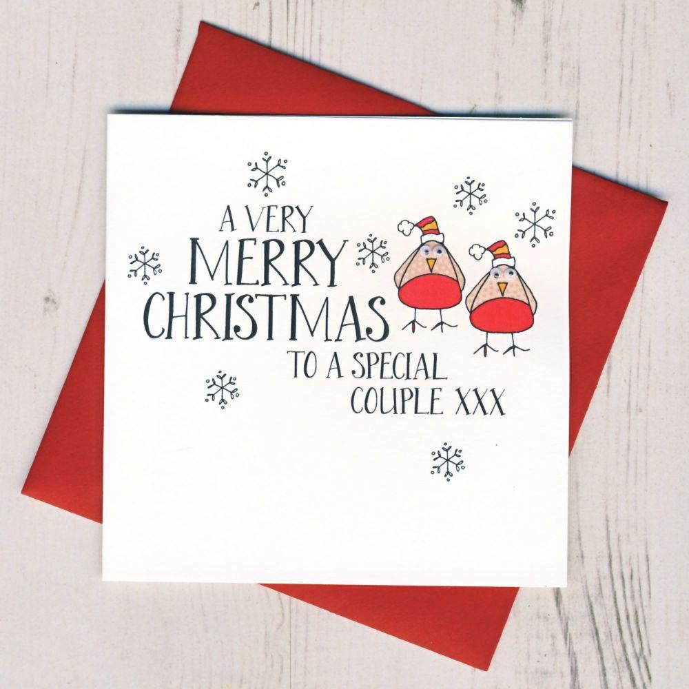 Wobbly Eyes Christmas Jumper Card