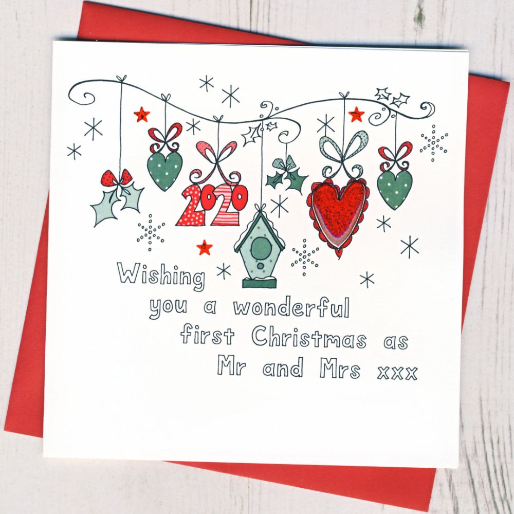 <!-- 002 -->First Christmas as Mr & Mrs