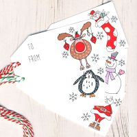 Mixed Pack of 5 Christmas Gift Tags