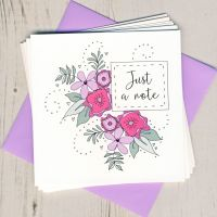 <!-- 007 -->Floral Notecards