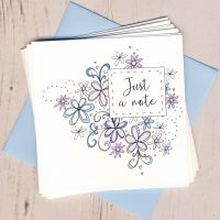 <!-- 008 -->Floral Notecards