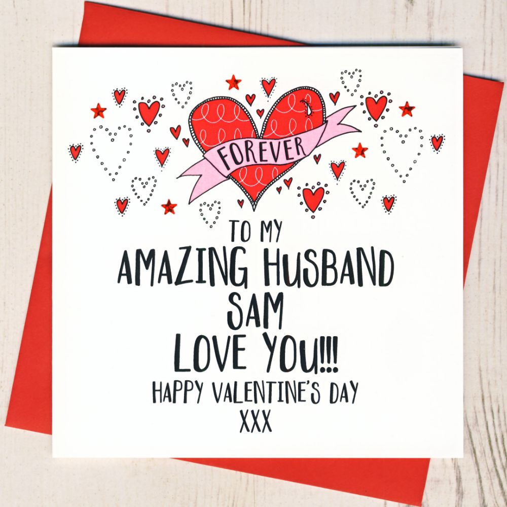 <!-- 002 -->Personalised Valentines Cards