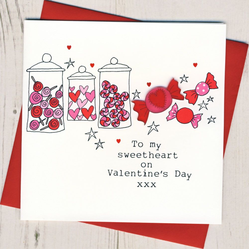 Sweetheart Valentines Card