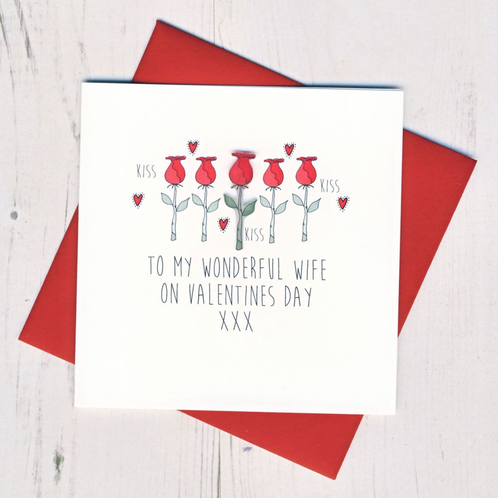 Wife Valentines Card