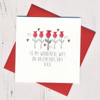 <!-- 009 -->Wife Valentines Card