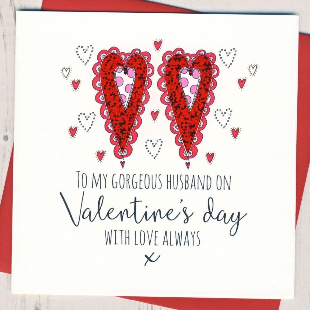 Husband Valentines Card