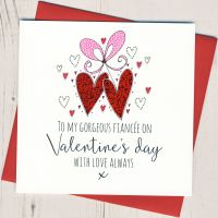 <!-- 018 -->Fiancee Valentines Card