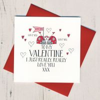 <!-- 023 -->I Really Really Love You Valentines Card