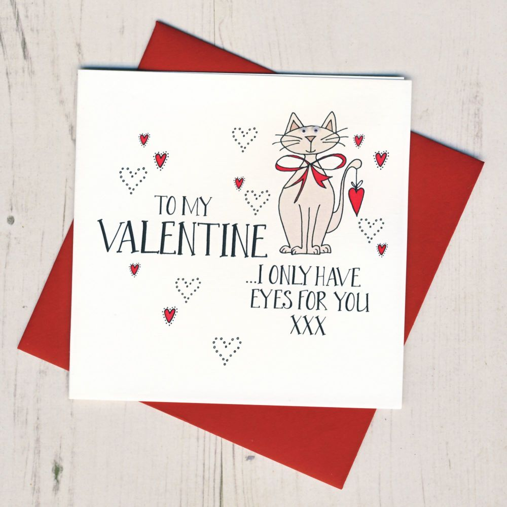 Valentines Card From The Cat or Cats