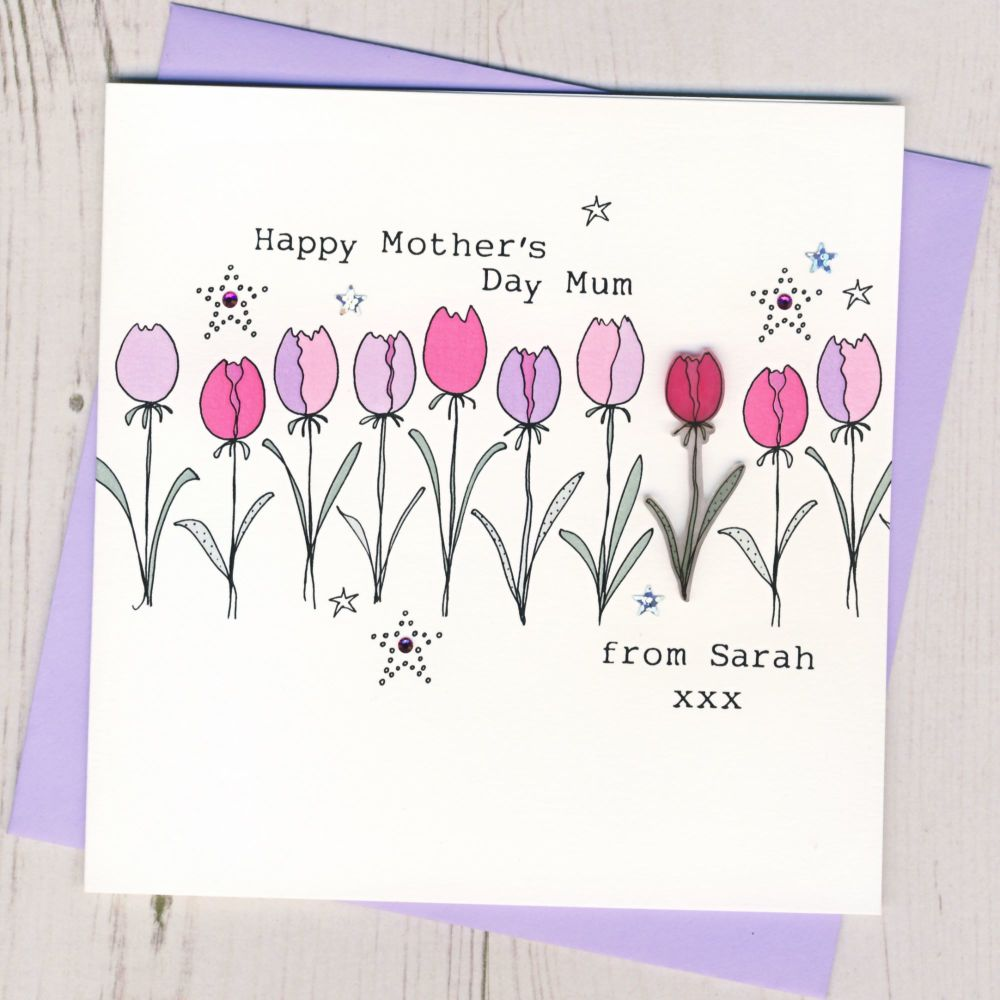 Personalised Happy Mother's Day Card