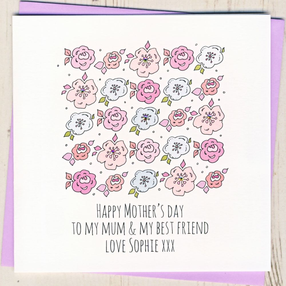 Personalised 'What Would I Do Without You' Mother's Day Card