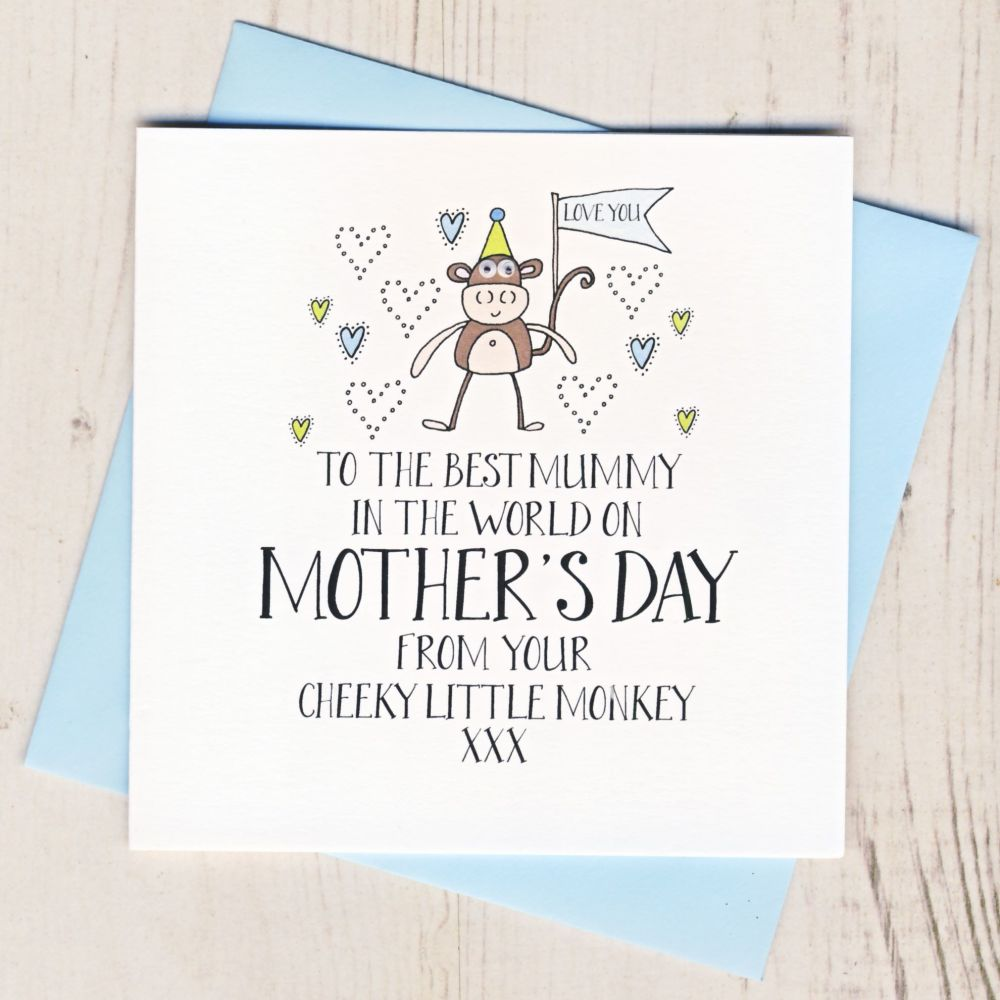 Little Monster Mother's Day Card