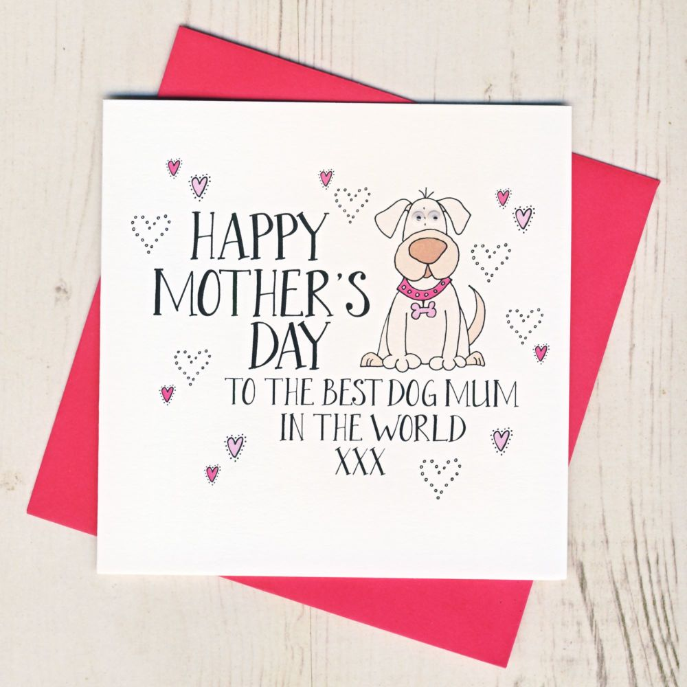 Ladybirds Mother's Day Card