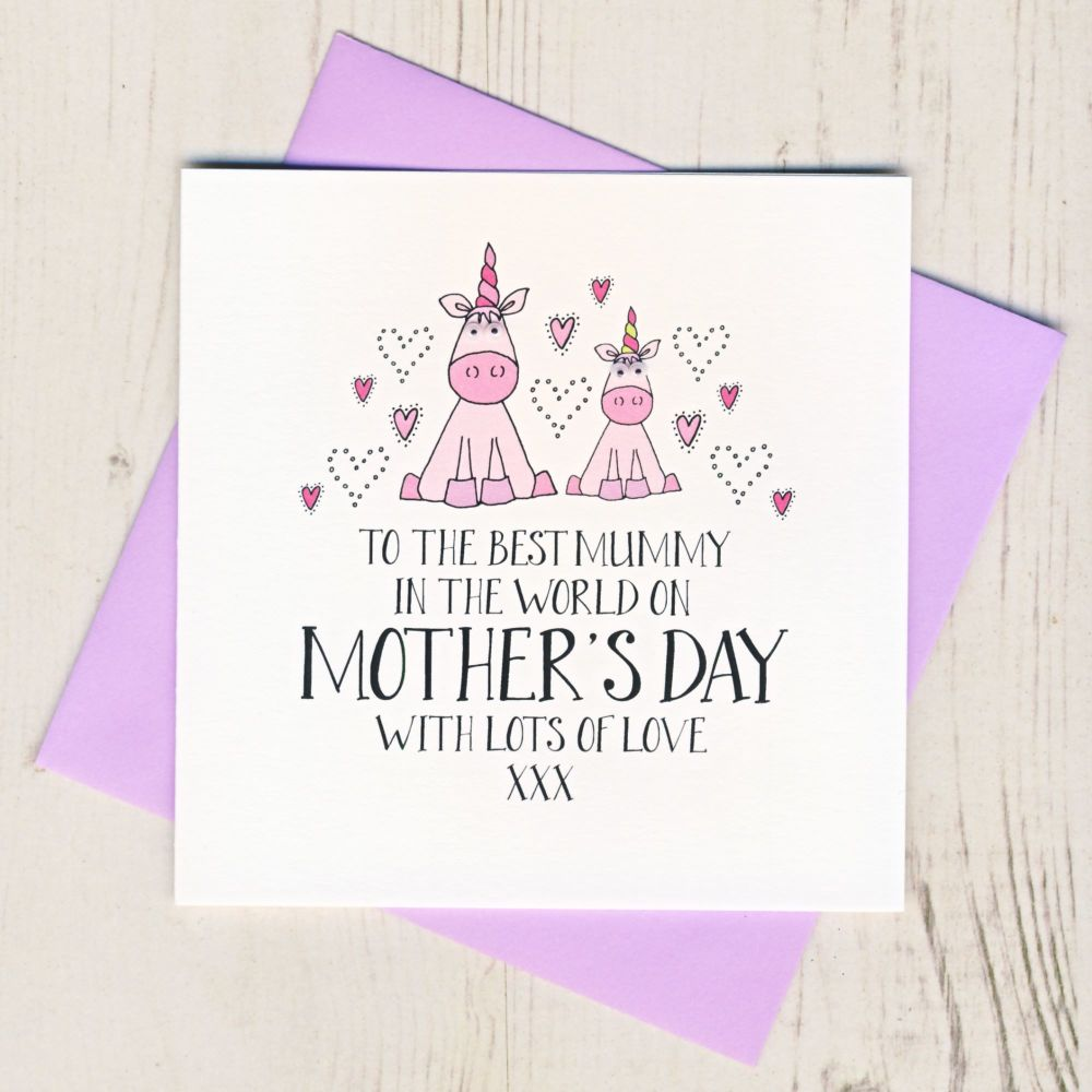 Little Princess Mother's Day Card