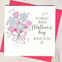 <!-- 006 -->A Fabulous Mum Mother's Day Card