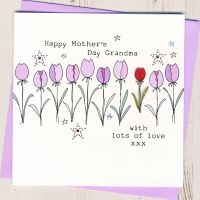<!-- 013 -->Grandma Happy Mother's Day Card