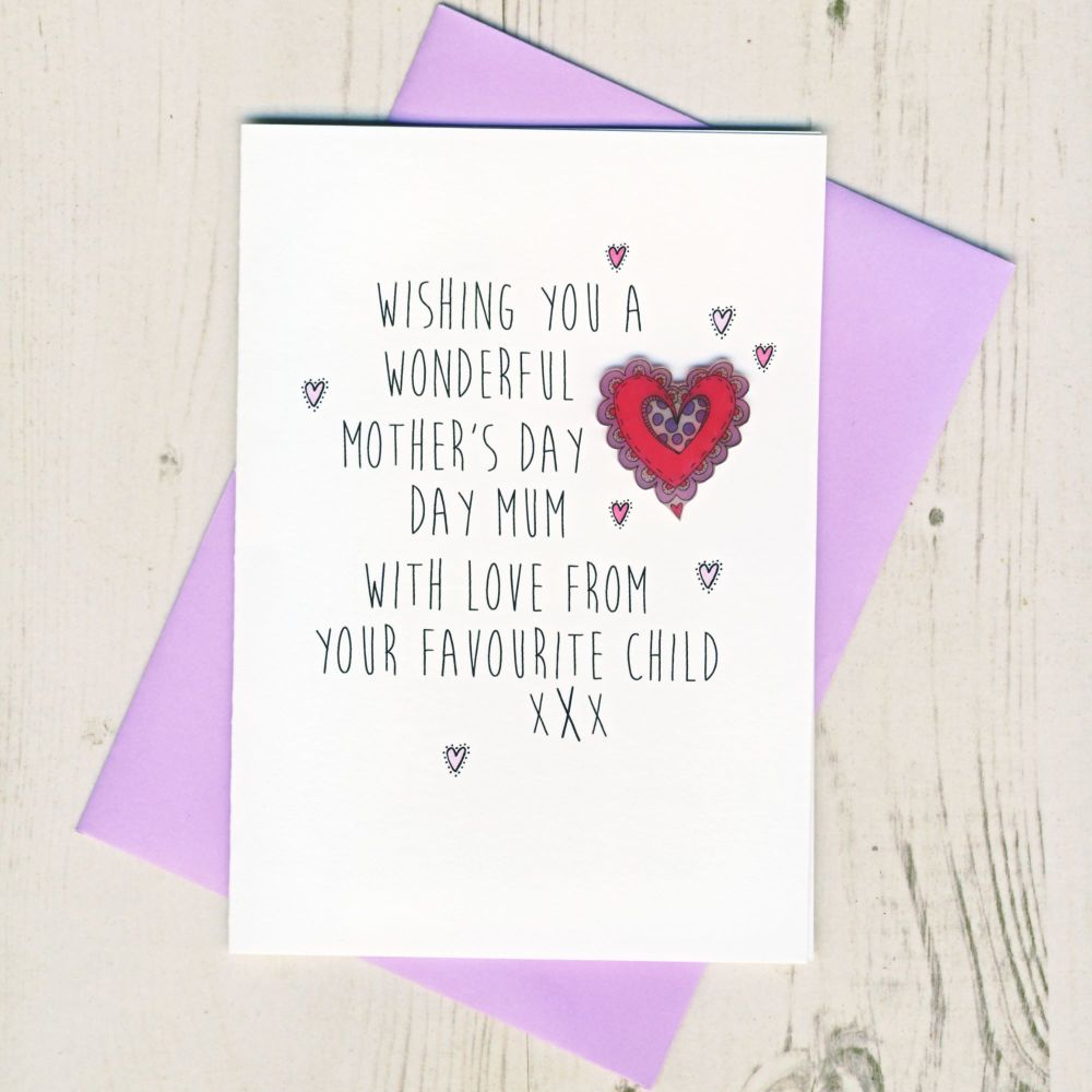 <!-- 016 -->Little Princess Mother's Day Card