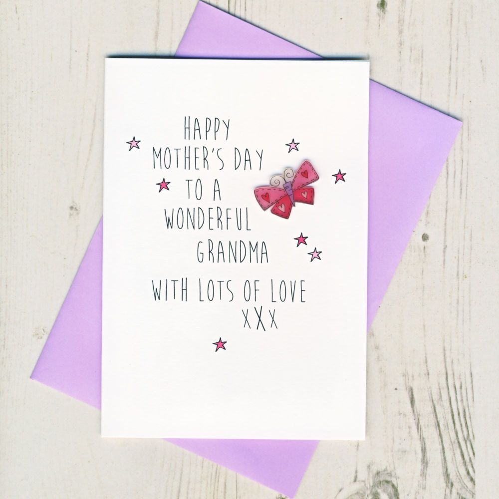 <!-- 019 -->Grandma Mother's Day Card