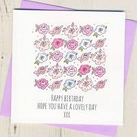 <!-- 015 -->Birthday Blossom
