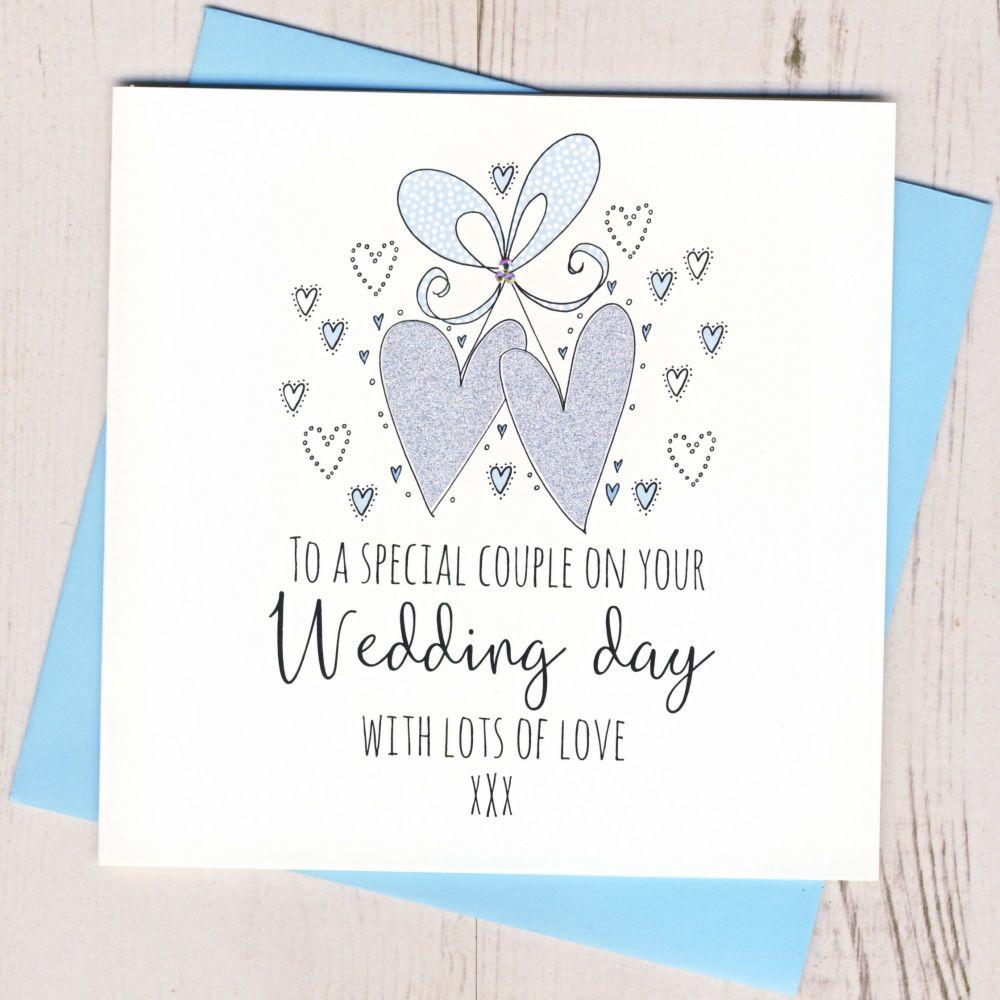 <!-- 001 -->Wedding Hearts Card