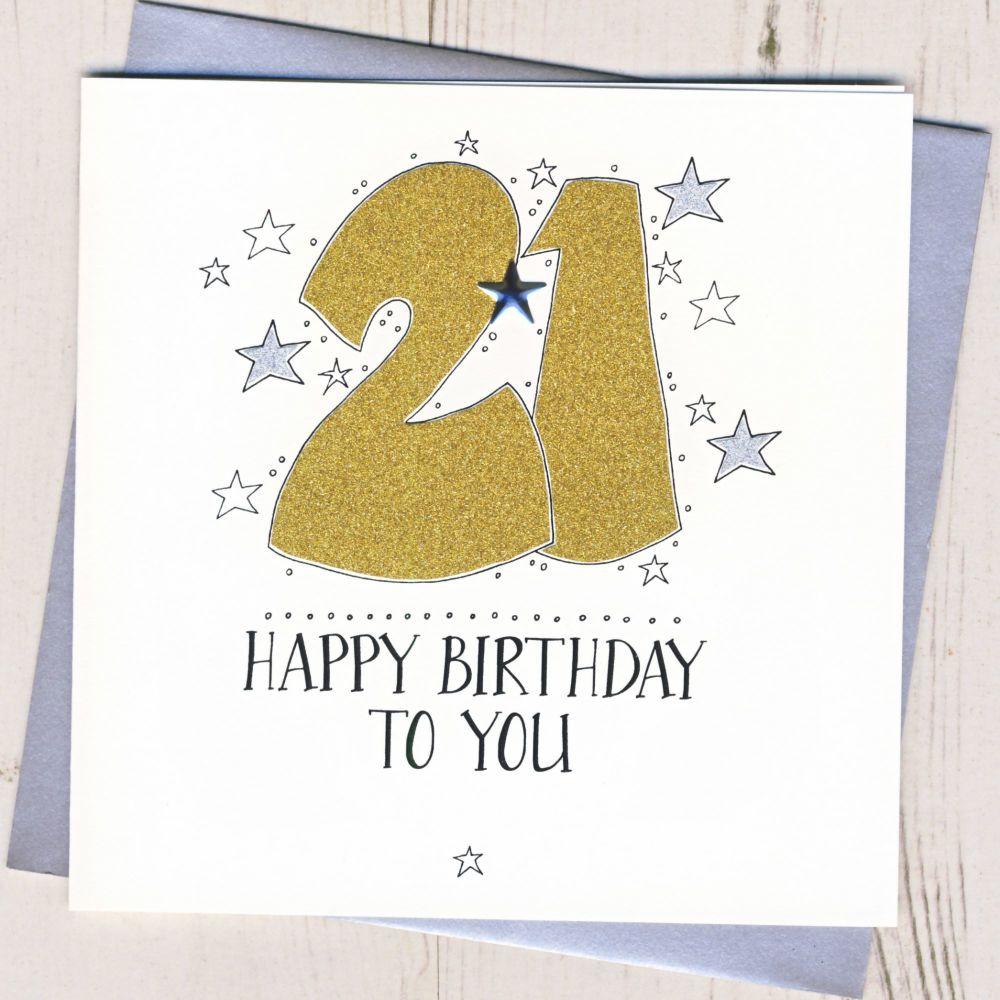 <!-- 007 -->Happy 21st Birthday
