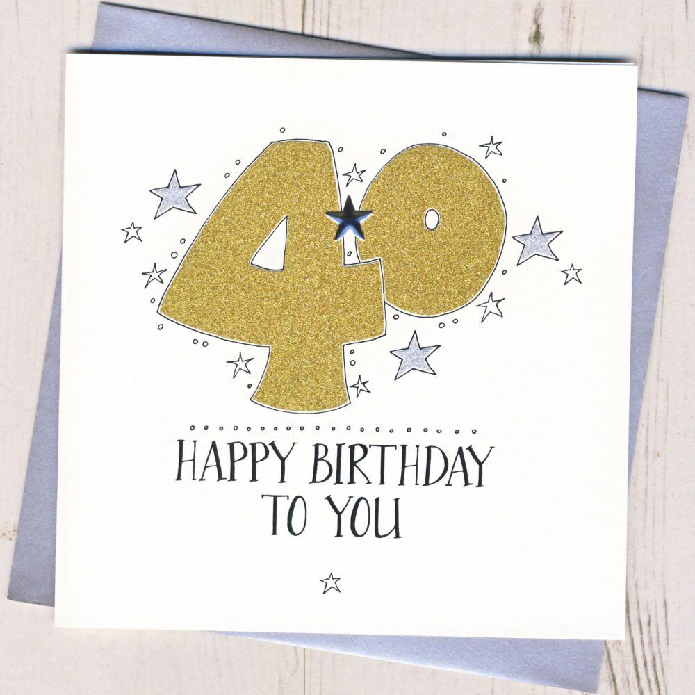 <!-- 009 -->Happy 40th Birthday
