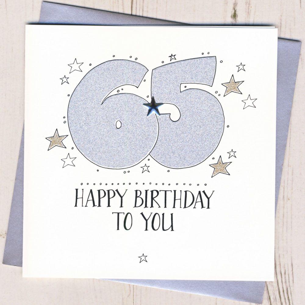 <!-- 005 -->Happy 65th Birthday