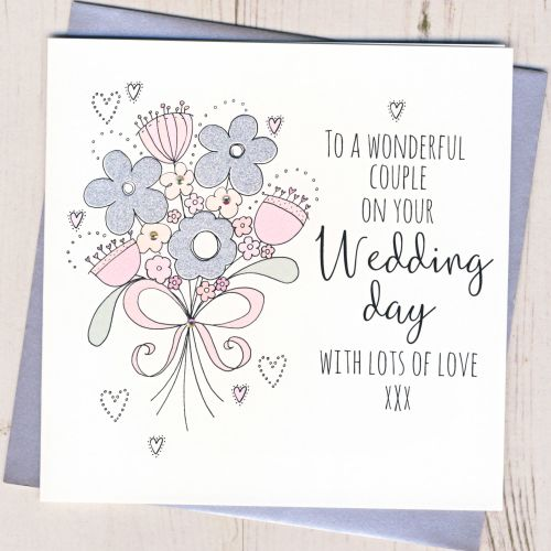 <!-- 001 -->Wedding Flowers Card