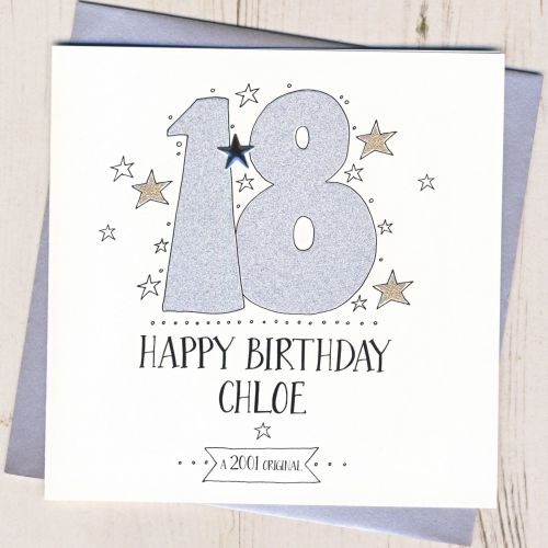 Personalised 18th Birthday Card