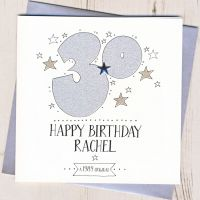 <!-- 002 -->Personalised 30th Birthday Card