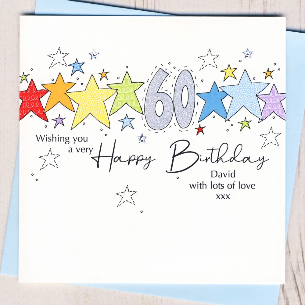 Personalised Special Age Cards