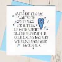 <!-- 016 -->Thanks Father's Day Card