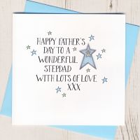 <!-- 031 -->Happy Father's Day Step Dad Card