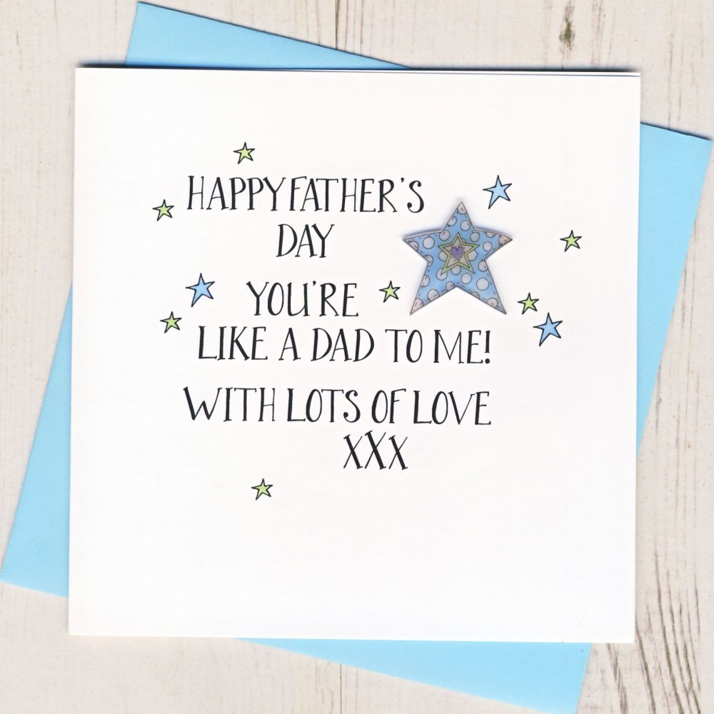 Happy Father's Day Step Dad Card