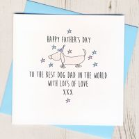 <!-- 025 -->Father's Day Card From The Dog