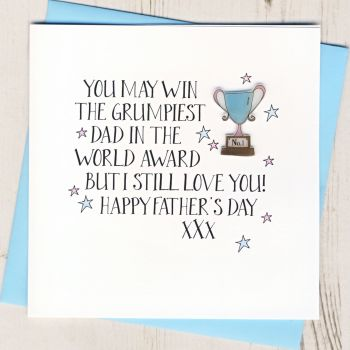Happy Father's Day Trophy