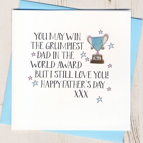 <!-- 015 -->Happy Father's Day Trophy