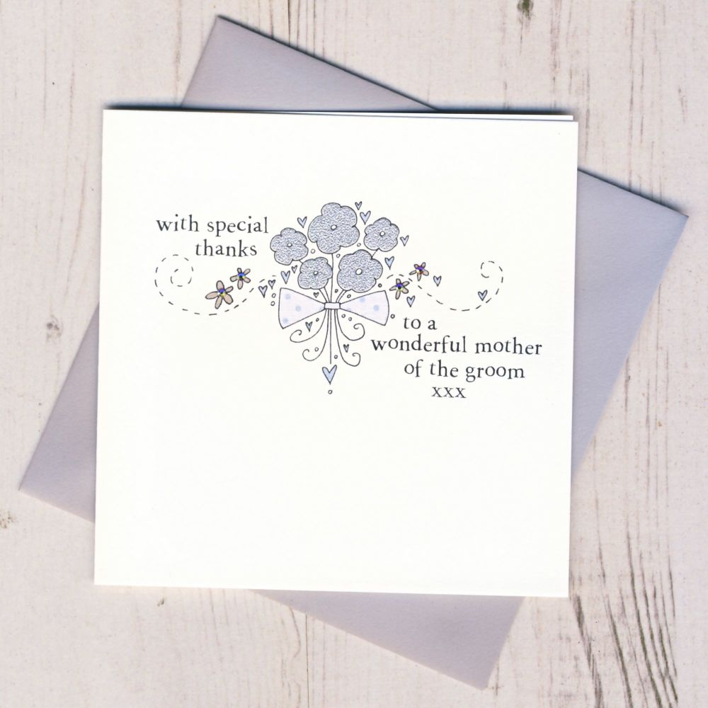 <!-- 008 -->Mother of the Groom Thank You Card