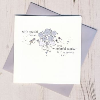 Mother of the Groom Thank You Card
