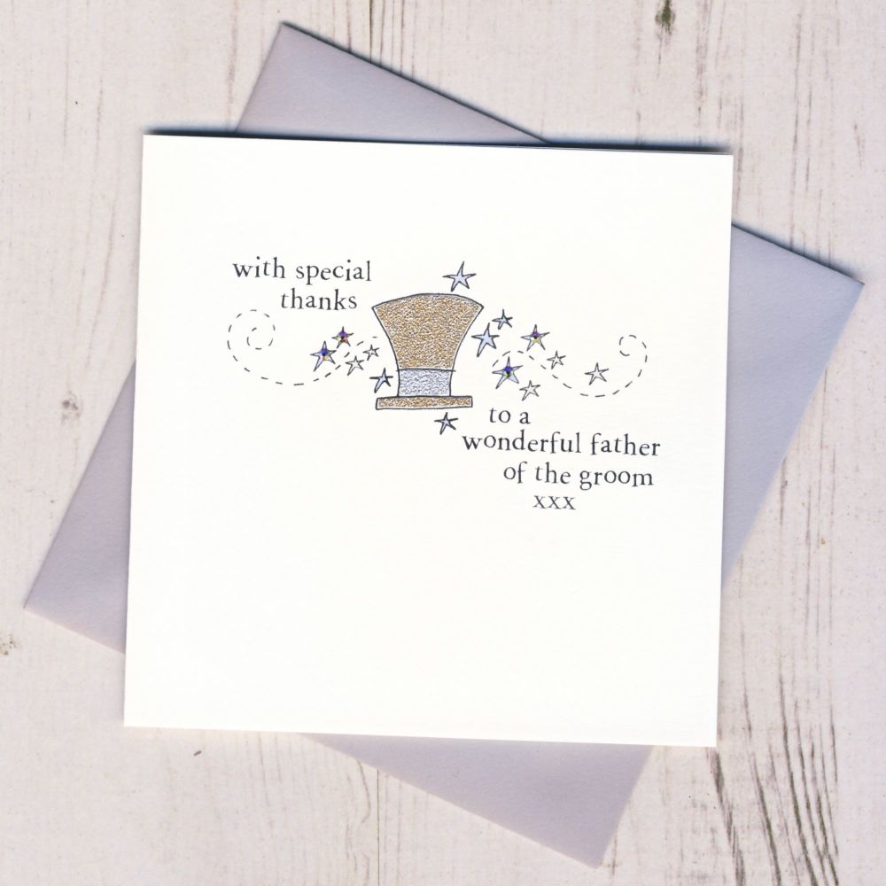 <!-- 009 -->Father of the Groom Thank You Card
