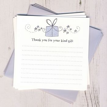 Pack of Gift Thank You Cards
